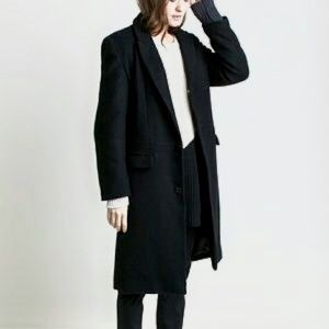 NWT Emerson Fry Black Wool Ryan Coat
